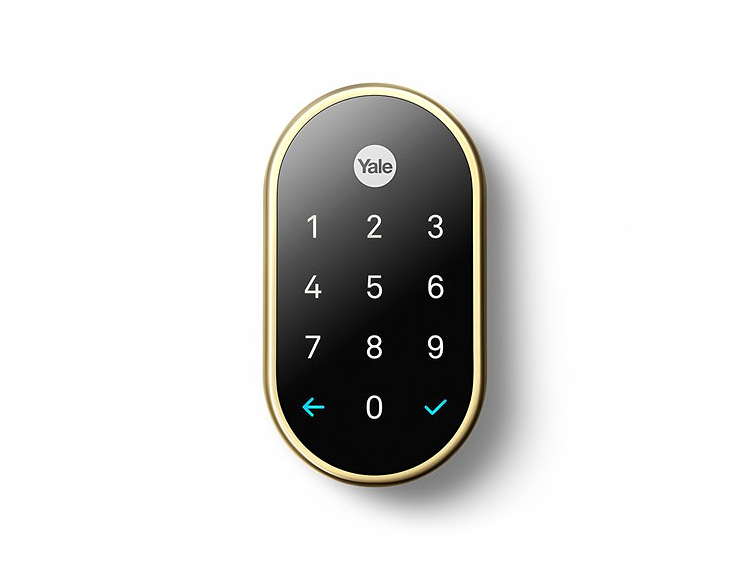 The Nest x Yale Lock is Smart Home Protection at werd.com