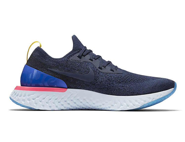 Nike Bites Back At BOOST with the Epic React Flyknit Runner at werd.com
