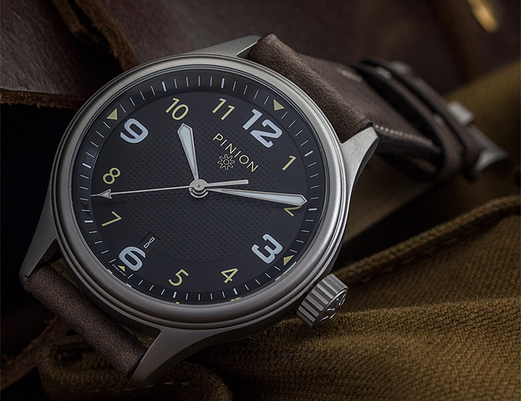The ATOM Automatic Marks a New Entry Point for Pinion Watches at werd.com