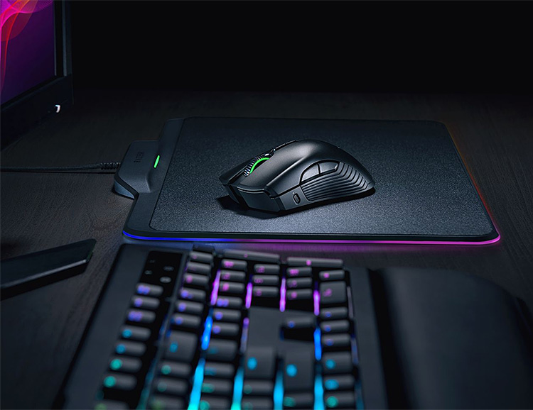 Razer Unveils HyperFlux Wireless Charging Mouse at CES at werd.com