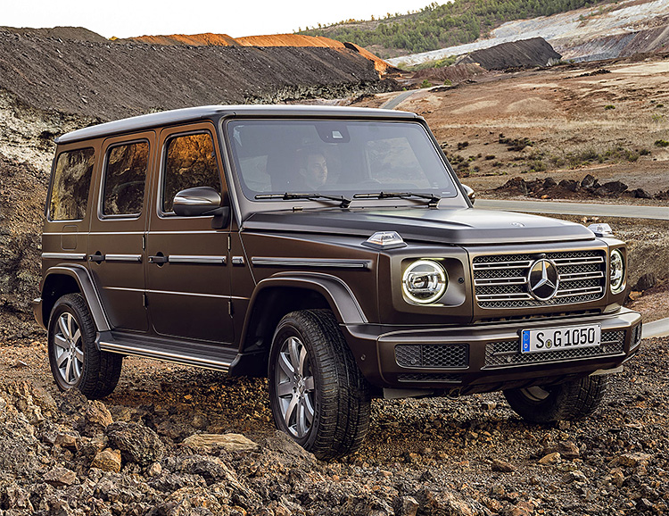 The 2019 AMG G63 is the Fastest & Most Powerful G-Class Ever at werd.com