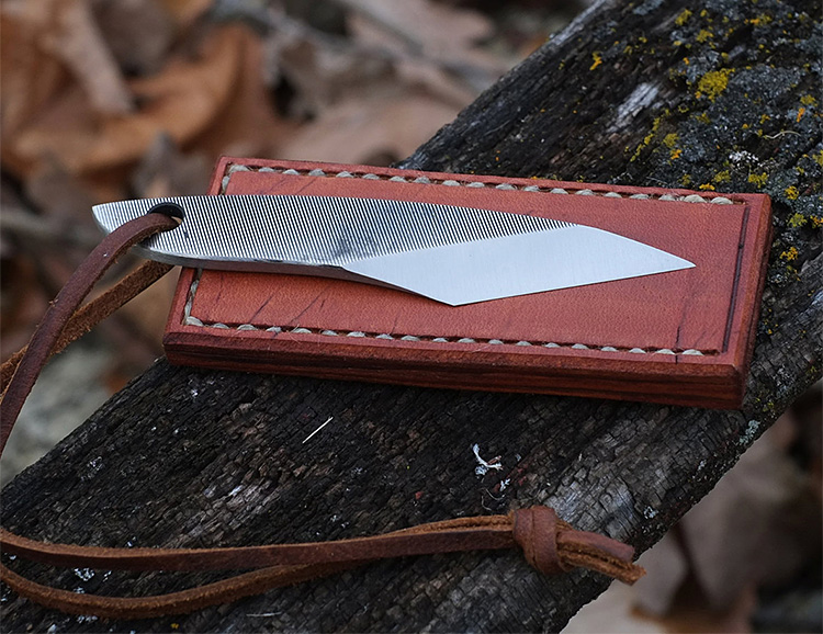The Handmade Kiridashi is a Versatile EDC Blade at werd.com