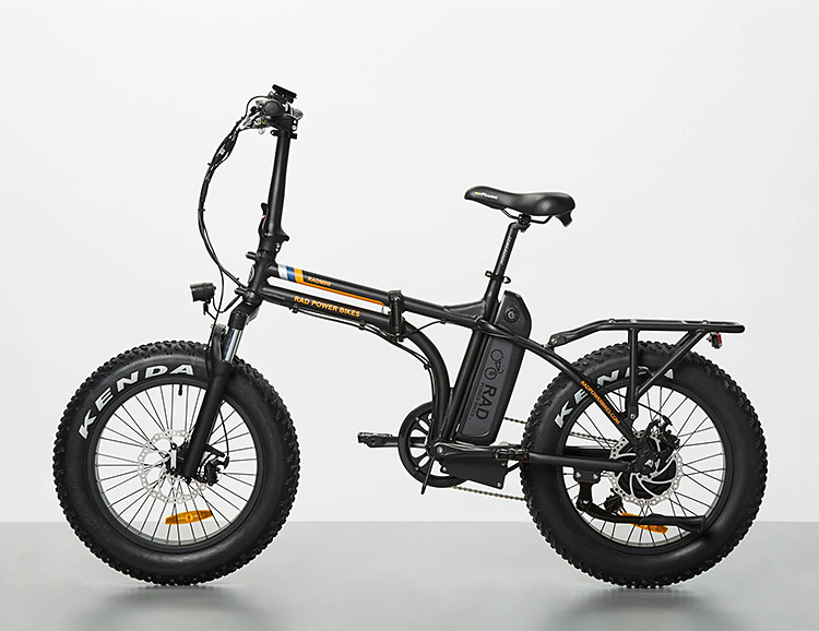 The RadMini Electric Folding Bike is a Cool Commuter at werd.com
