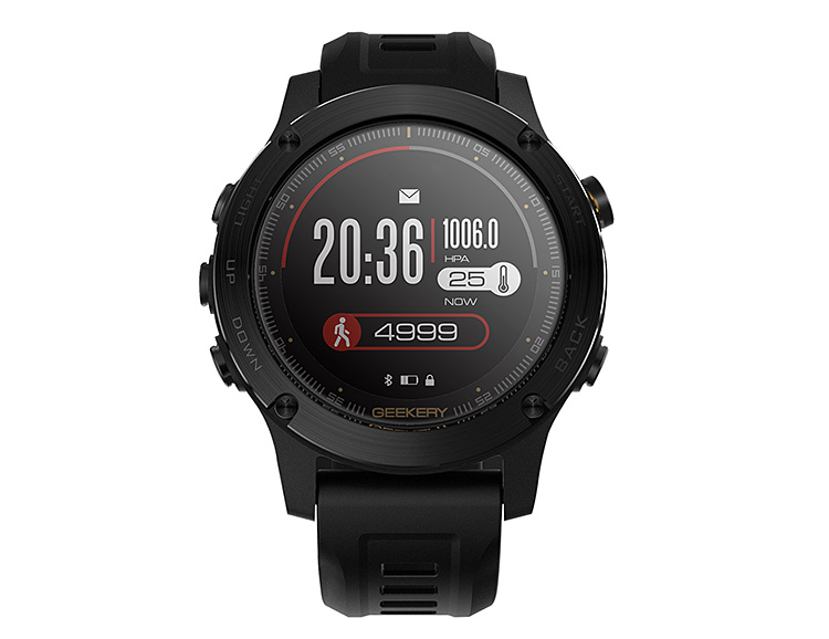 The Ironcloud GPS Sport Watch Goes 50 Hours Without a Recharge at werd.com