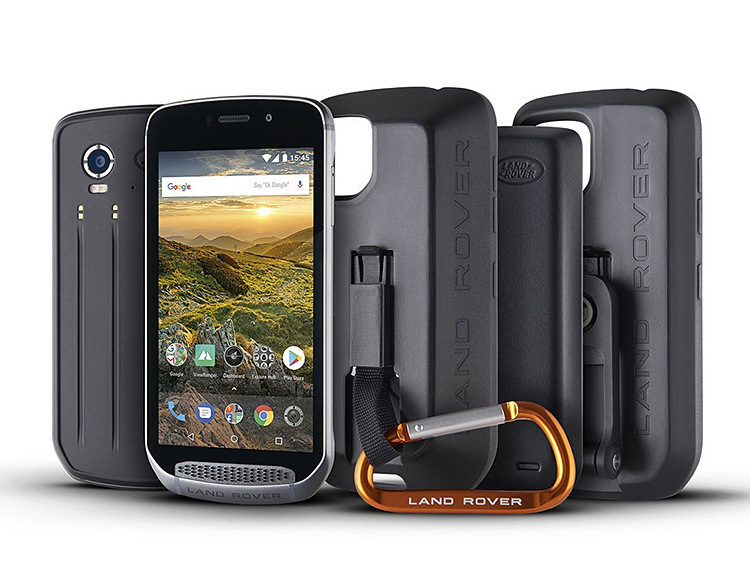 The World's Toughest Smartphone is a Land Rover at werd.com