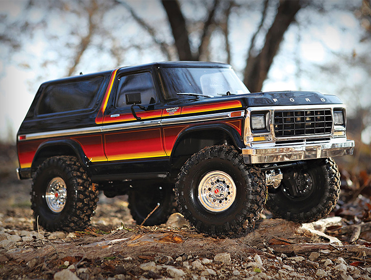Traxxas Introduces Legit Looking '79 Bronco XLT at werd.com