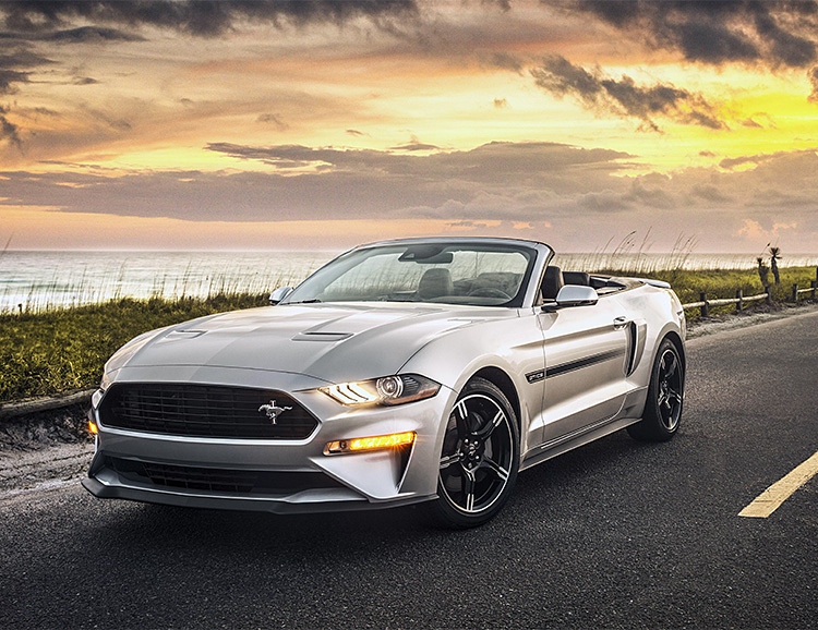 For 2019, Ford is Bringing Back the Mustang California Special at werd.com