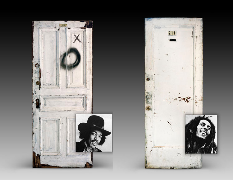 Doors From The Iconic Chelsea Hotel Go Up For Auction at werd.com