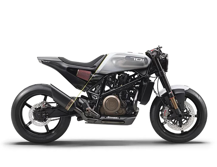 The Vitpilen 701 is a Husqvarna Built For The Streets at werd.com