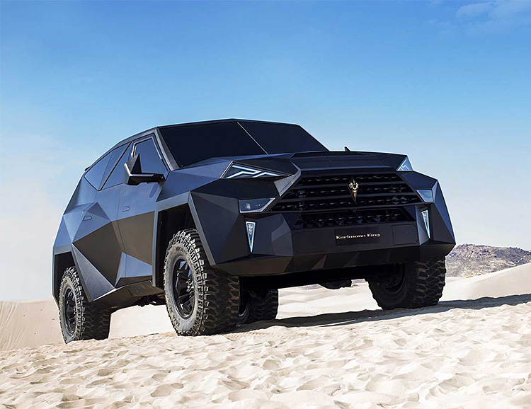 World's Most Expensive SUV: The Karlmann King at werd.com