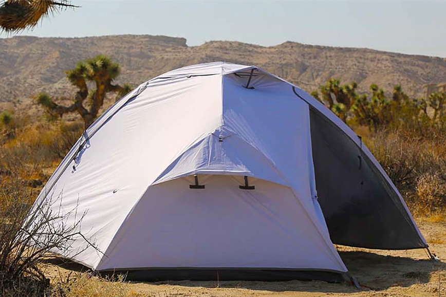 This Tent Blocks Out Heat & Light So You Can Sleep-In at werd.com