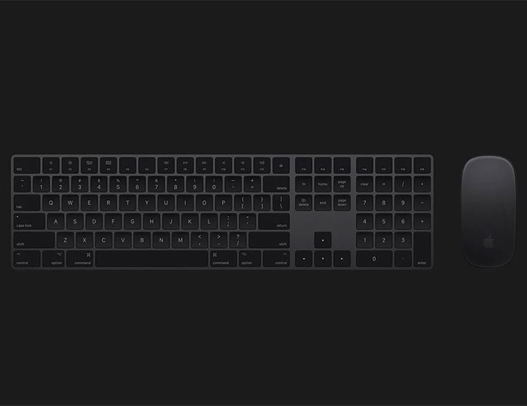Apple Tees Up Space Grey Mac Accessories at werd.com