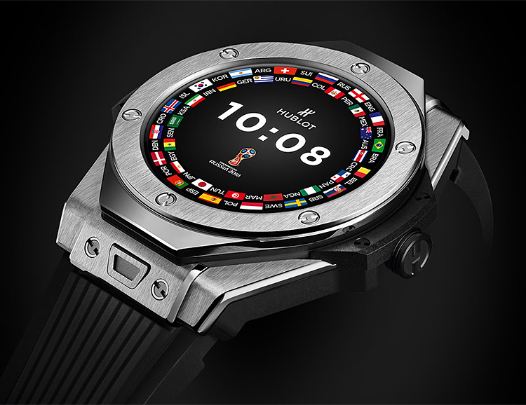 Hublot Has a Limited Edition Smart Watch for Serious Soccer Fans at werd.com
