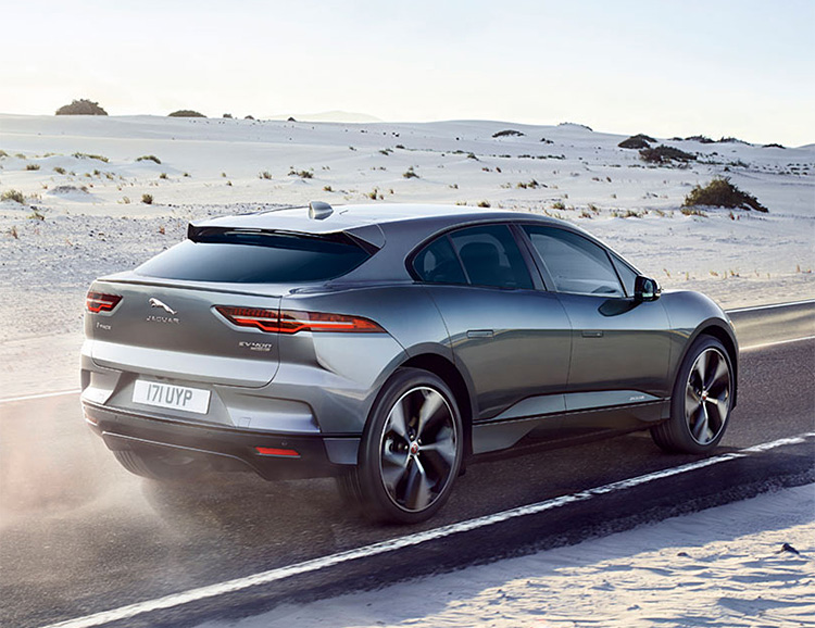 Jaguar Introduces I-PACE Electric Crossover with 240-Mile Range at werd.com