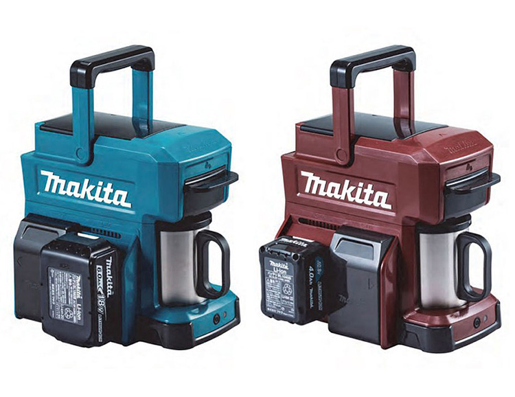Makita Introduces a Cordless Coffee Maker at werd.com