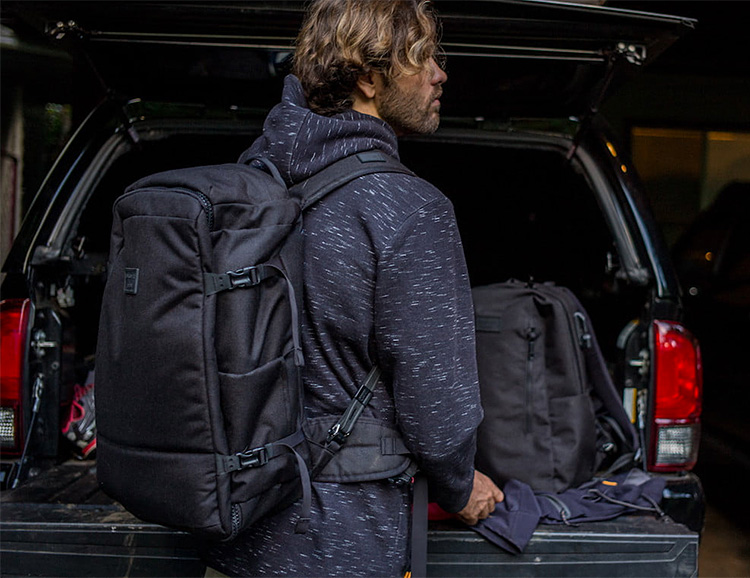 Quiksilver & PacSafe Collaborate On a Pair Of Theft-Proof Packs at werd.com