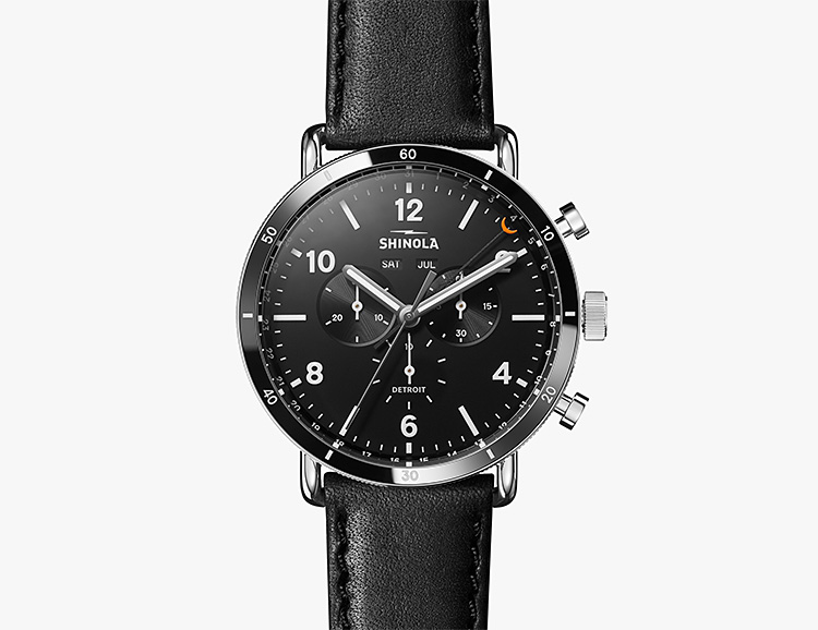 Shinola Drops Another New American-Made Chronograph at werd.com