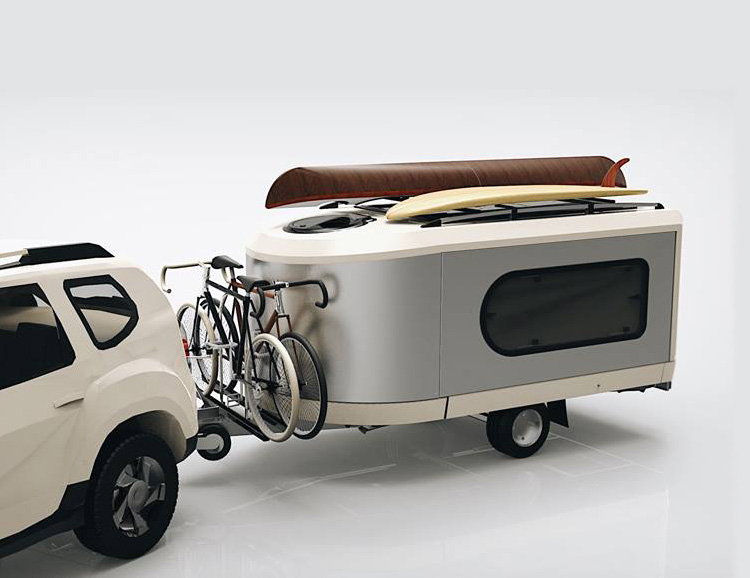 The Tipoon Camper is Modular & Modern at werd.com