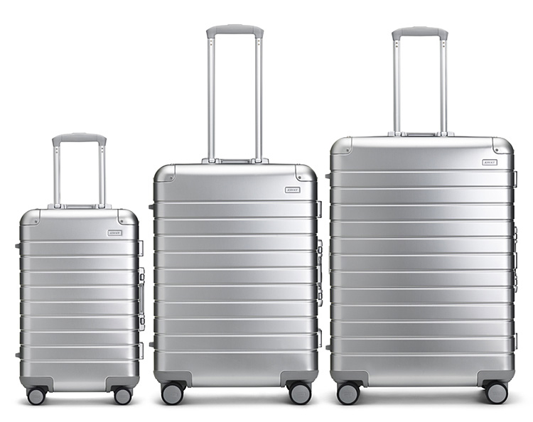 Away Launches Aluminum Edition Luggage Collection at werd.com