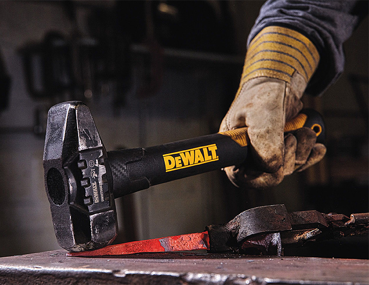 DeWalt Introduces ExoCore Axes & Sledgehammers with Carbon Fiber Handles at werd.com