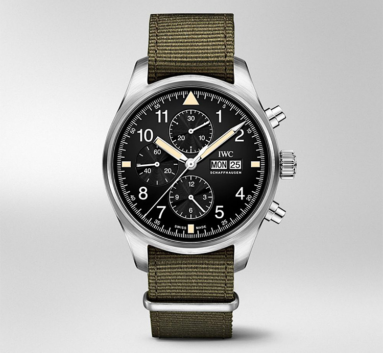 IWC Introduces Mark XI-Inspired Pilot's Chrono at werd.com