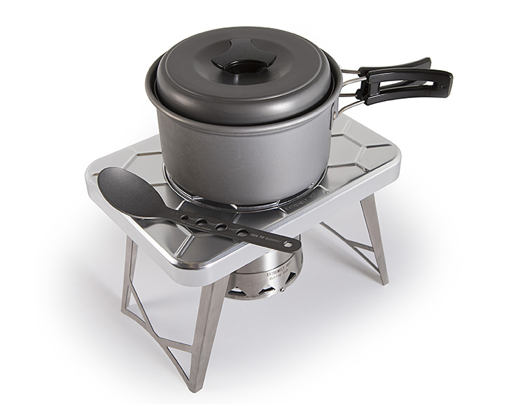 nCamp Made a More Packable Camp Cook Stove at werd.com