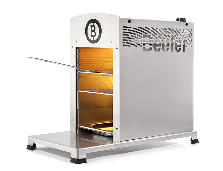 This Beefer Grill Is Hot As Hell at werd.com