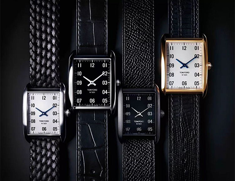 Designer Tom Ford Debuts New Watch Collection at werd.com