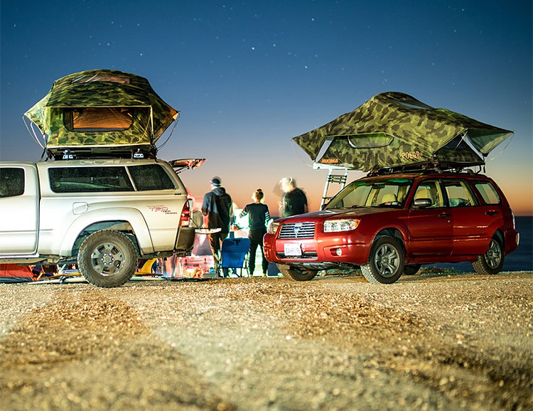 Yakima & Poler Team Up on a Rooftop Tent at werd.com