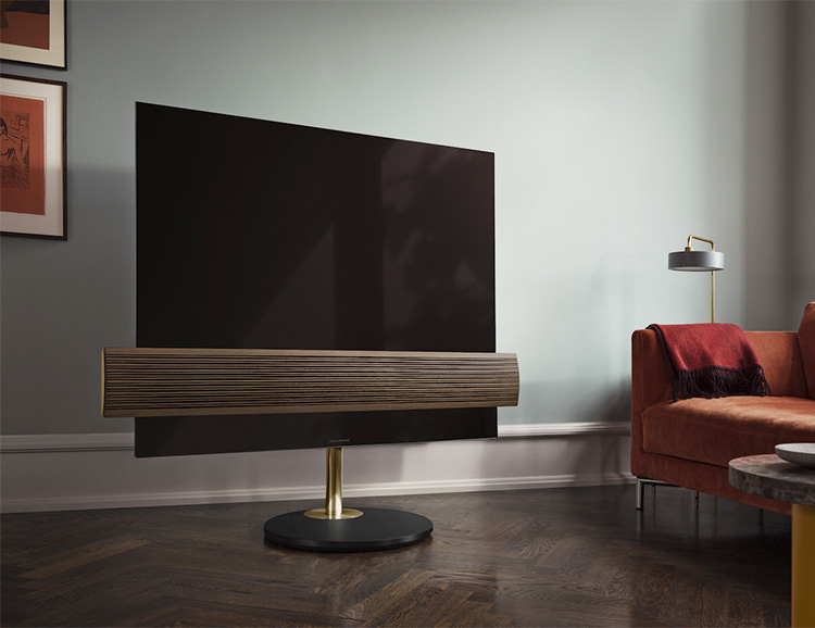 Bang & Olufsen Unveils Luxe Version of it's Eclipse 4K OLED TV at werd.com
