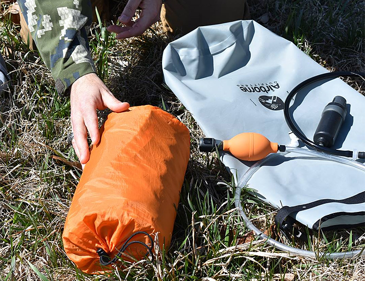 The Bitterroot Dry Bag is the First 3-In-1 Dry Bag at werd.com