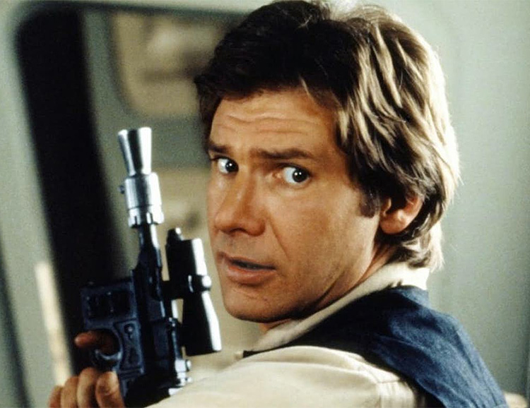Don't Miss Your Shot at Han Solo's Blaster from <i>Return Of The Jedi</i> at werd.com