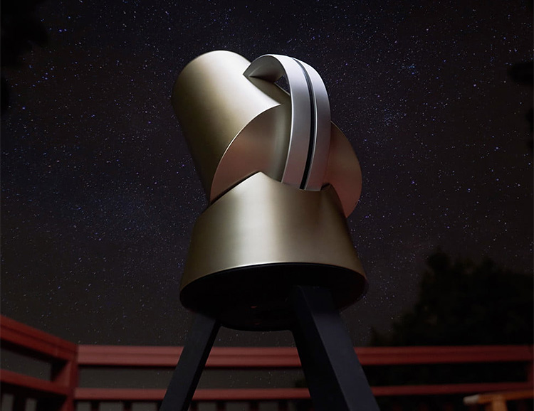 The Hiuni Telescope Gives You Effortless Access to the Stars at werd.com