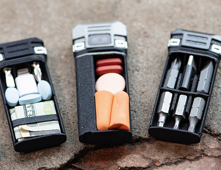 EDC Tools & Compact Storage: The CLiP System at werd.com