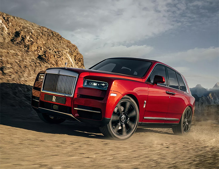 Roll-Royce Unveils Their Cullinan SUV at werd.com