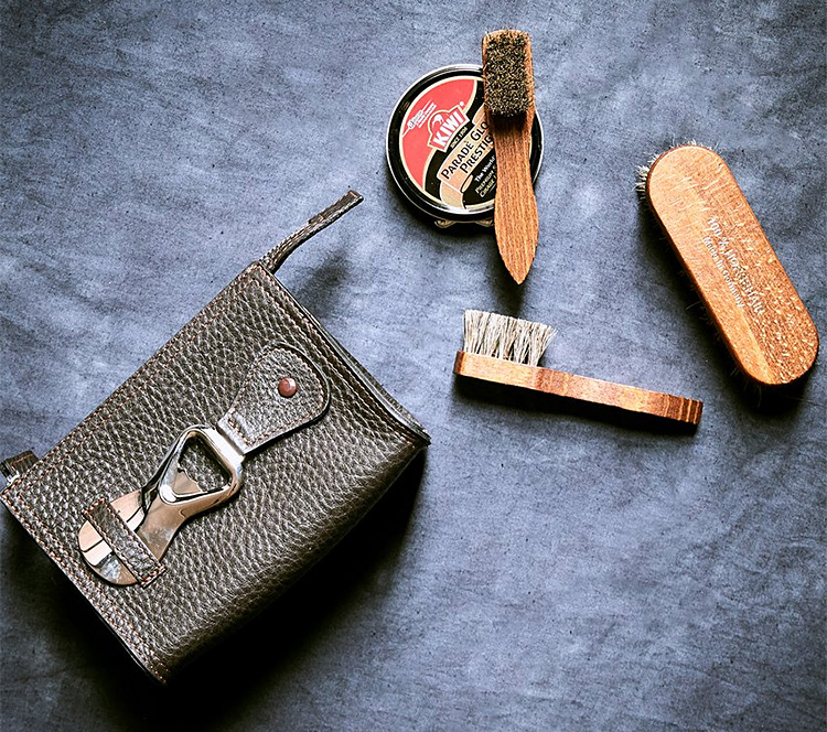 Todd Snyder New York and F. Hammann Shoe Shine Kit at werd.com
