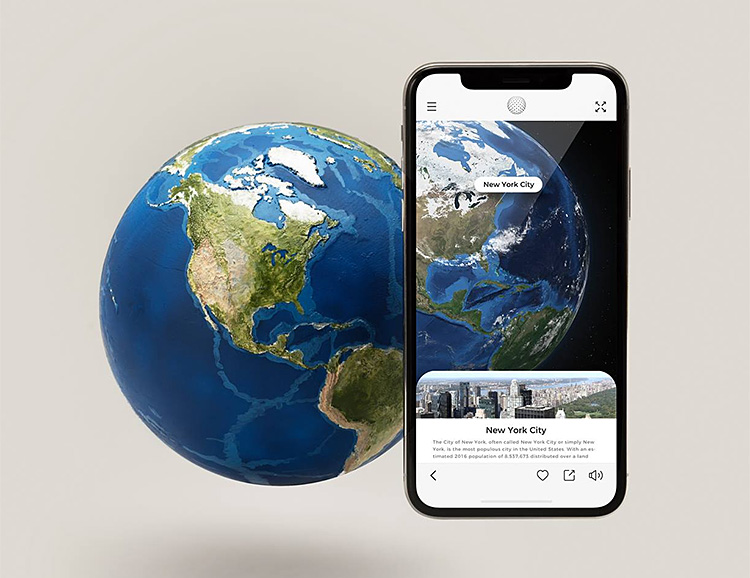 EARTH Uses AR To Teach You About Our Planet