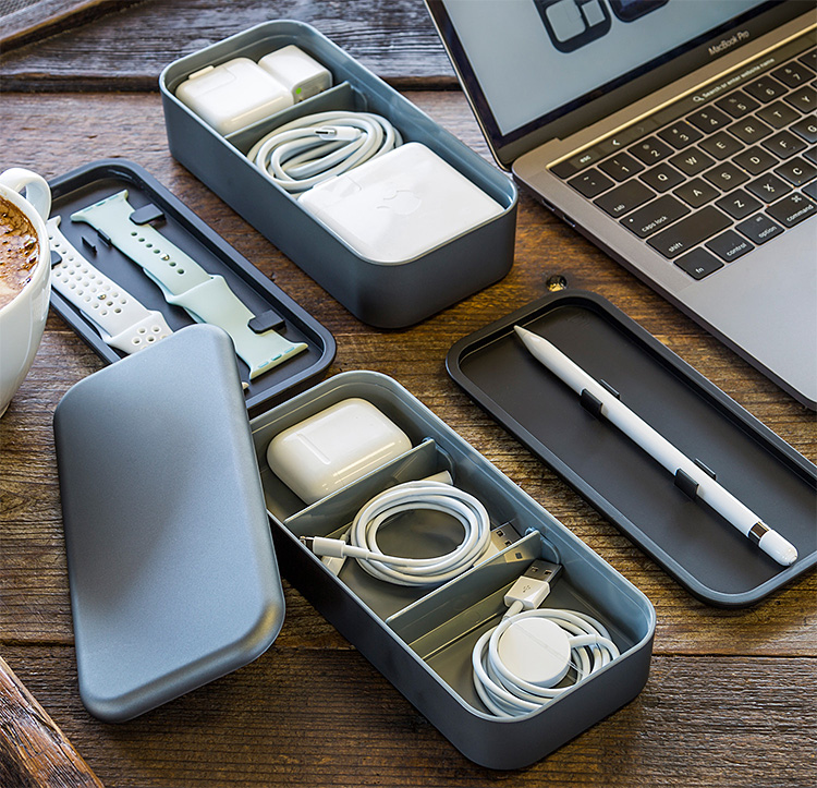 BentoStack is a Sweet Storage Solution for All Your Apple Accessories at werd.com