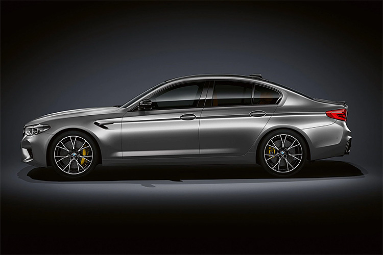 BMW Unveils Revved-Up M5 Competition Model at werd.com