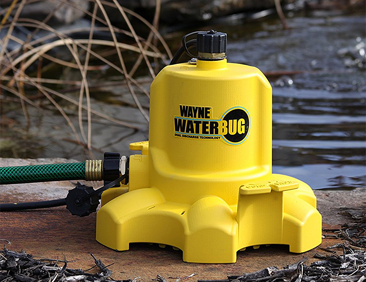 The Wayne WaterBug is a Powerful Pump at werd.com