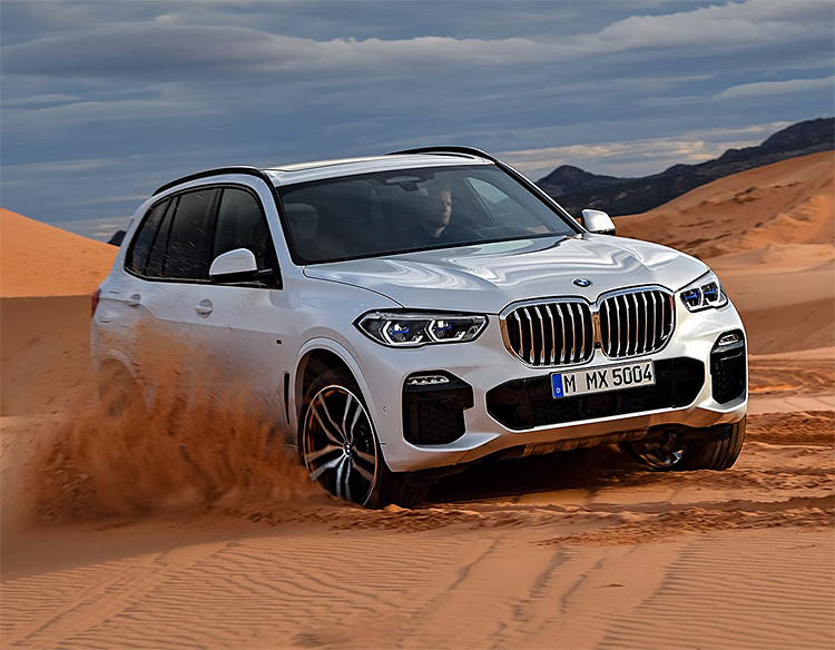 BMW Unveils Re-Designed X5 SUV for 2019 at werd.com