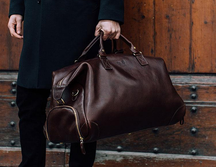 The Bennett Winch Leather Weekender is Built to Last a Lifetime at werd.com