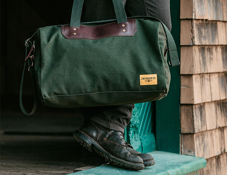This Canvas Weekender is One Durable Duffel at werd.com