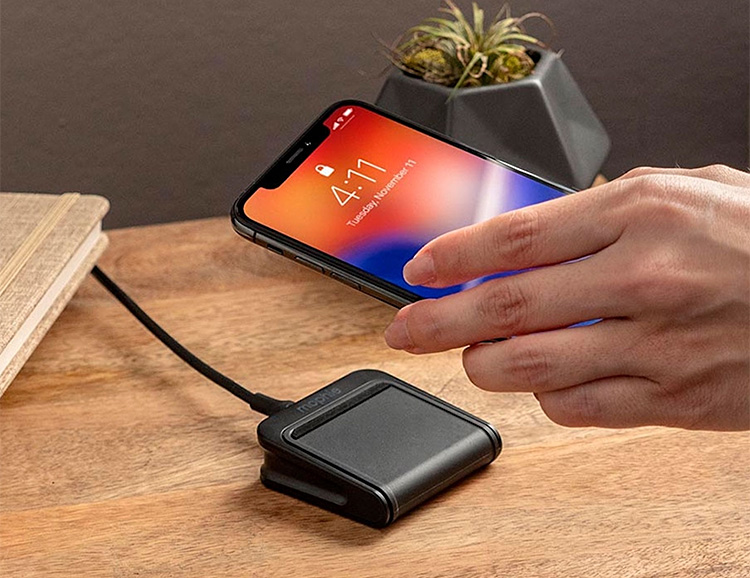Mophie's Charge Stream Pad Mini Delivers Compact, Portable Qi Charging at werd.com
