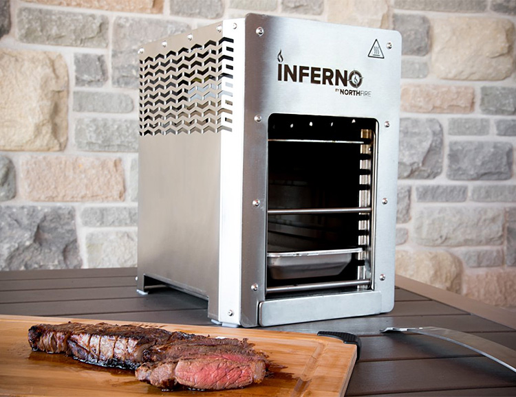The Inferno Infrared Grill is Hot As Hell at werd.com