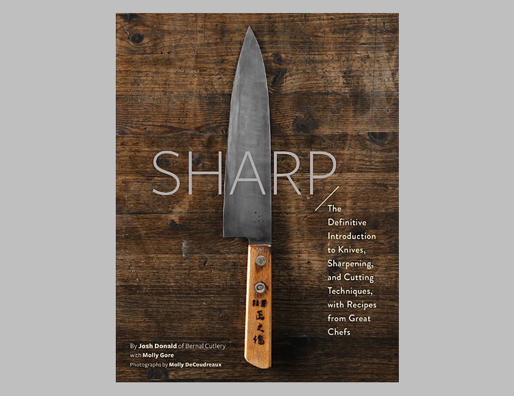 Sharp: The Definitive Guide to Knives, Knife Care, and Cutting Techniques at werd.com