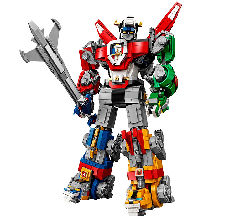 This Voltron is LEGO's Largest Mech-Based Set Yet at werd.com