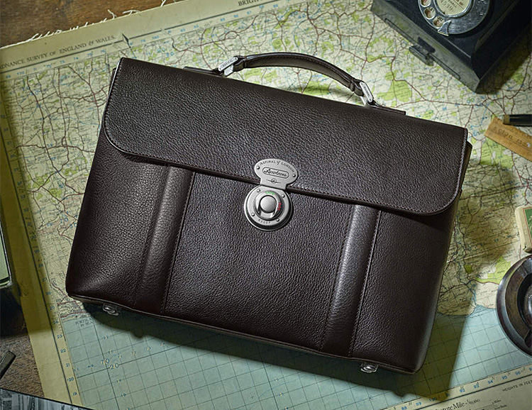 The Military-Inspired Aerodrome Briefcase is Ready for Boardroom Battle at werd.com