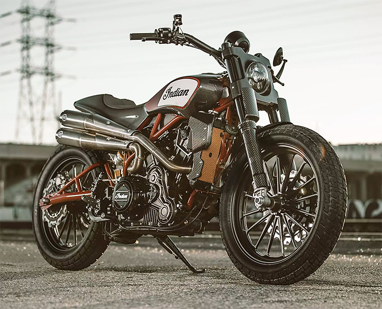 Indian Unveils a Production Flat Tracker for 2019 (or 2020): The FTR 1200 at werd.com