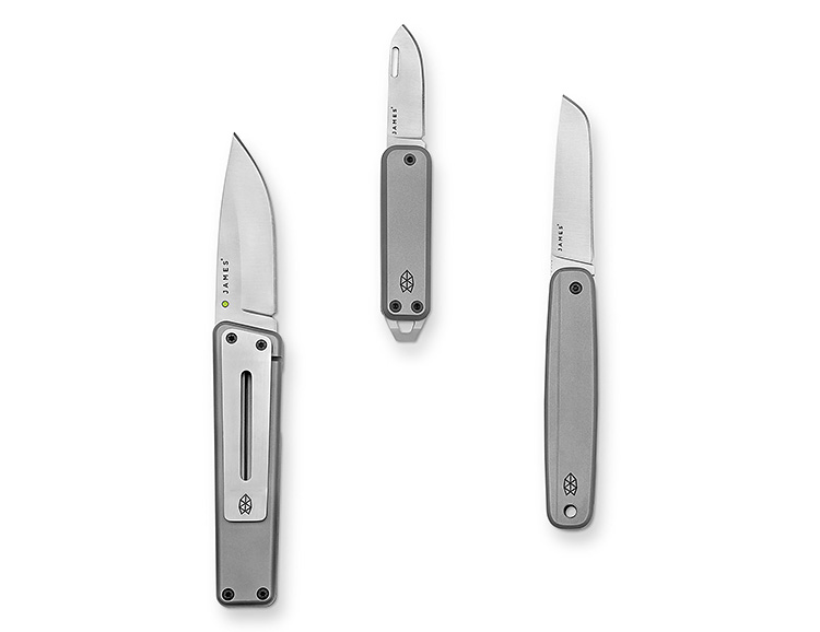 James Brand Knives Now in Titanium at werd.com